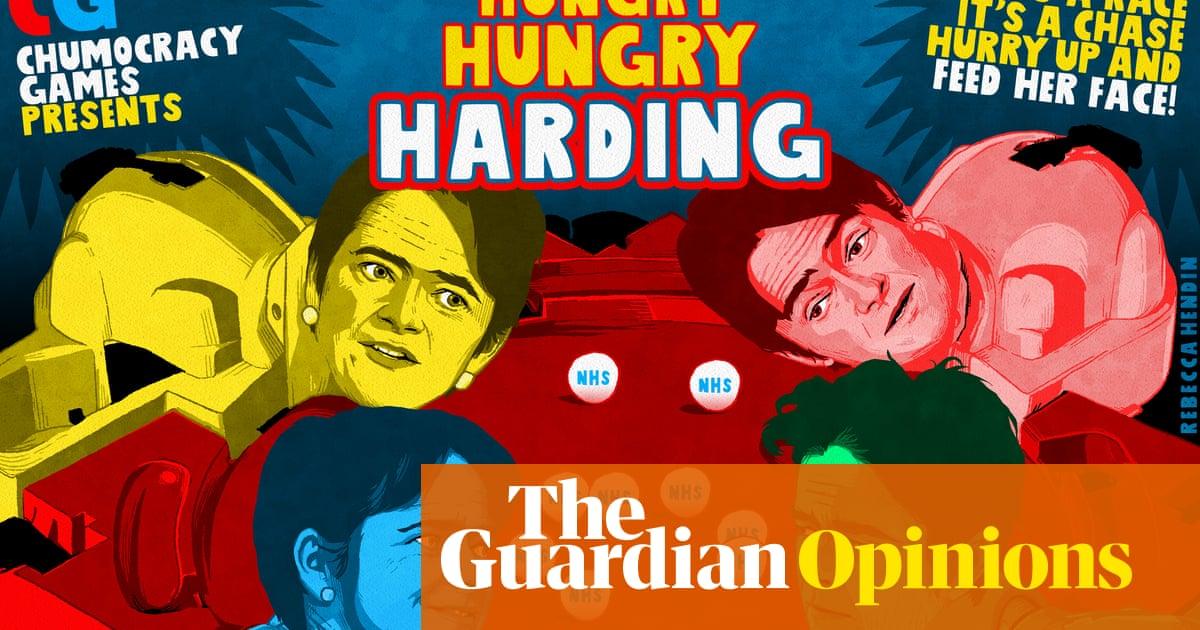 Rebecca Hendin on Dido Harding's bid to head the NHS – cartoon