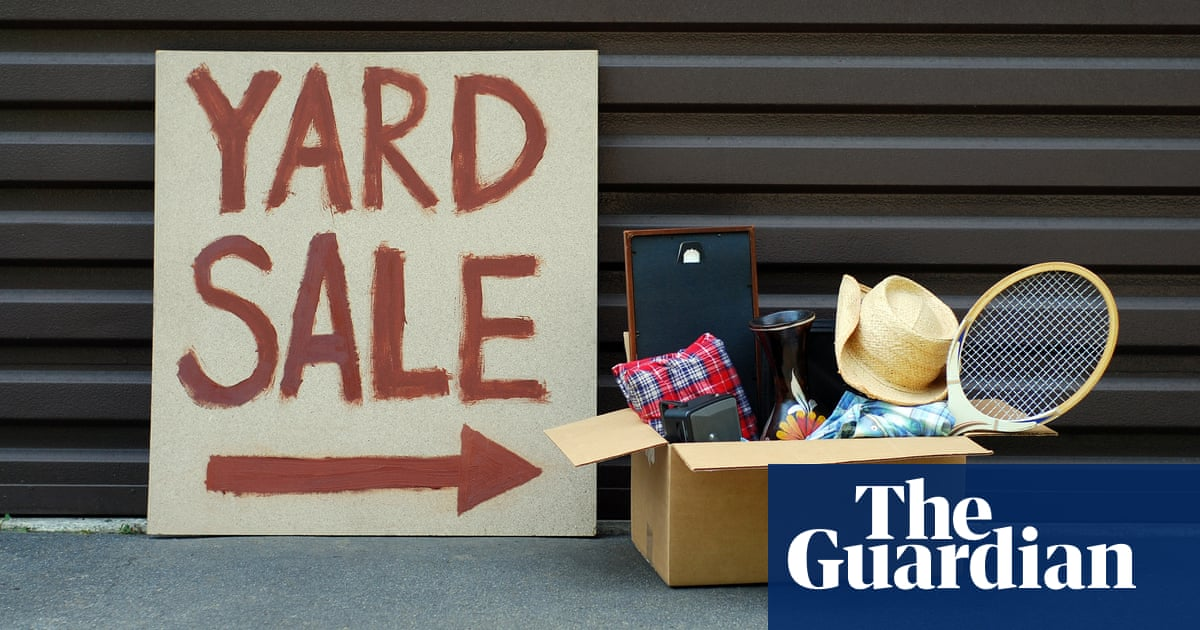 I adore secondhand shopping, but my neighbours' yard sales made me nervous