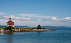Gilbert's Cove Lighthouse, Digby, County of Digby Nova Scotia, Canada