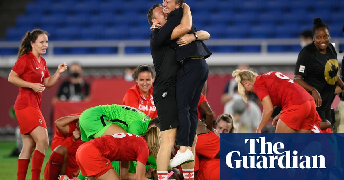 The English manager at the heart of Canada's Olympic football glory