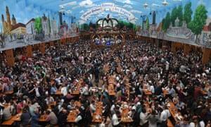 People at Oktoberfest