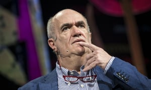 Colm Tóibín at the Hay festival.