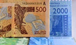 CFA banknotes