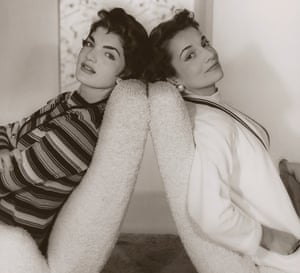 Jackie Kennedy and Lee Radziwill – then Canfield – in 1955.