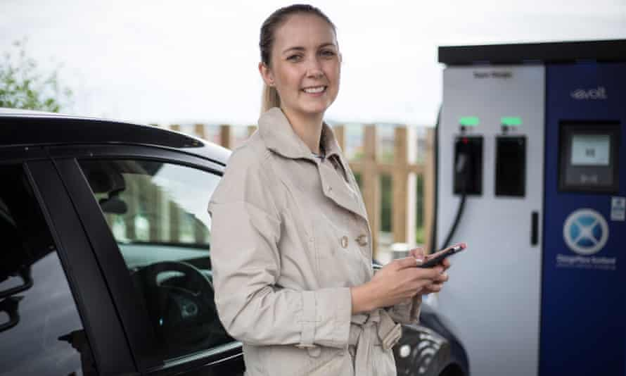 Elinor Chalmers, the director of Electric Vehicle Association Scotland.