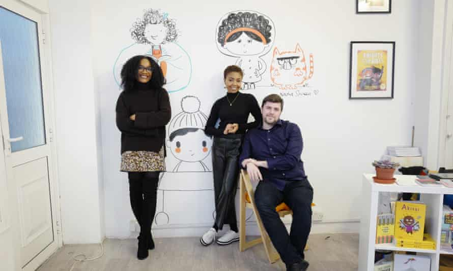 Knights Of cofounders Aimee Felone and David Stevens, with creative director Marssaié Jordan.