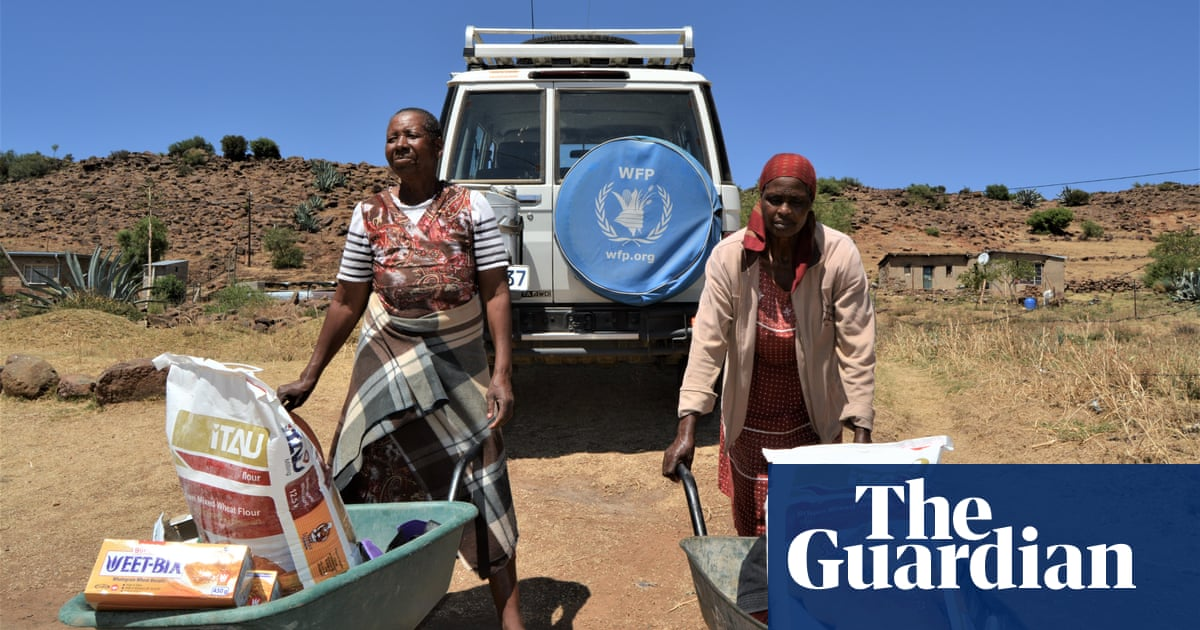 Landlocked Lesotho faces food crisis amid Covid border closures - the guardian