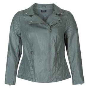 M&S Curve faux-leather jacket, £59.