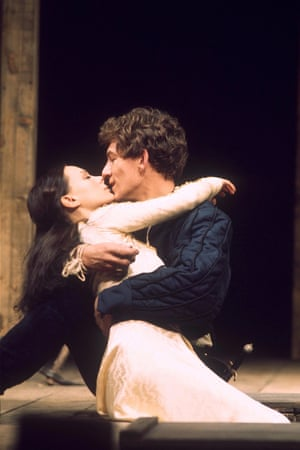 Francesca Annis and Ian McKellen in the RSC's 1976 production, directed by Trevor Nunn.