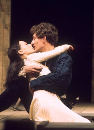1976 In Trevor Nunn's Romeo and Juliet, with Francesca Annis, at Stratford