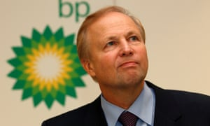 Bob Dudley credited with steering the company through 'probably the most challenging time in BP's history'.