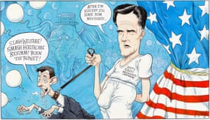 Chris Riddell on the Republican presidential candidate's running mate.