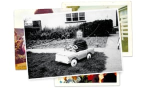 Snapshots, such as this one of Alan, aged three, were all that the family had left of him