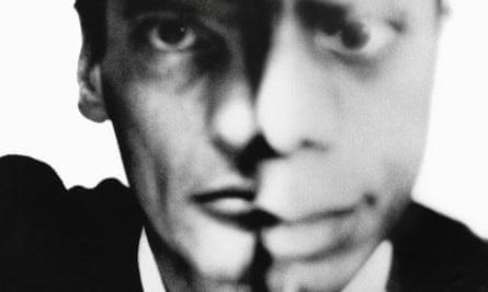 Richard Avedon self-portrait with James Baldwin (1964).