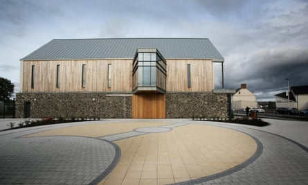 """The new centre dedicated to Seamus Heaney was named today by Mid Ulster Council - Seamus Heaney HomePlace - """"named to reflect the physical position of the centre at the heart of the area where the poet was born, grew up and is buried, as well as its signiH337DP"""