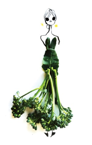 Tenderstem broccoli from Edible Ensembles by Gretchen Röehrs