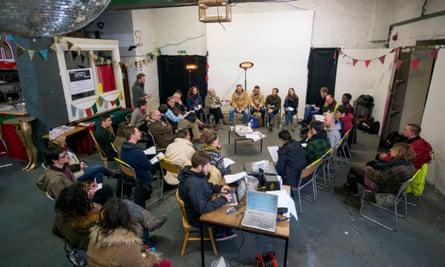 Bristol Cable members' meeting.