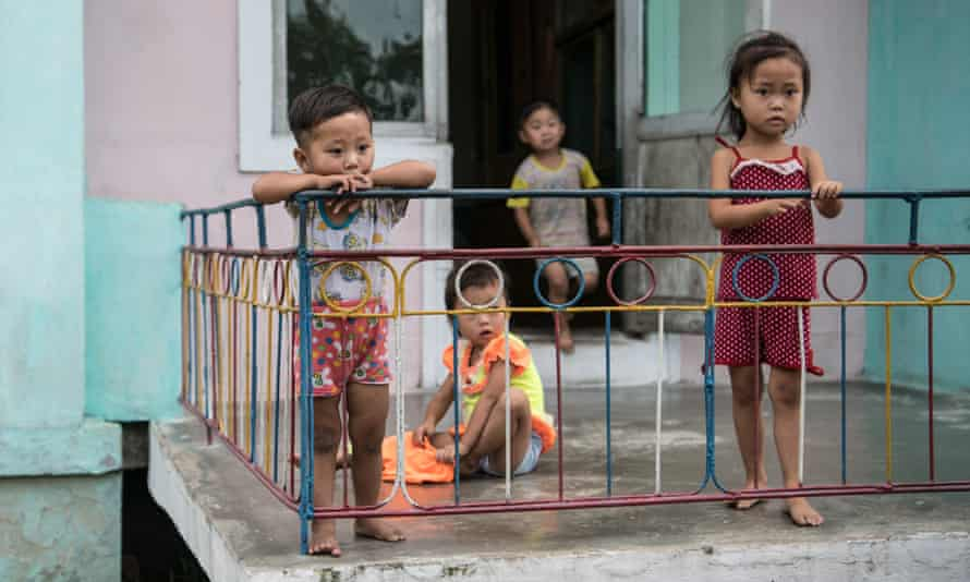 One in five children see stunted growth due to chronic malnutrition in North Korea.