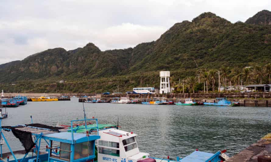 Jinzin harbour has a mountainous backdrop that reminded some of Hawaii.