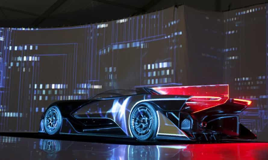 An electric batmobile? The Faraday Future FFZERO1 electric concept car