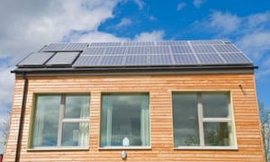 A zero-carbon house.