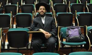 Yehuda Sabiner in class