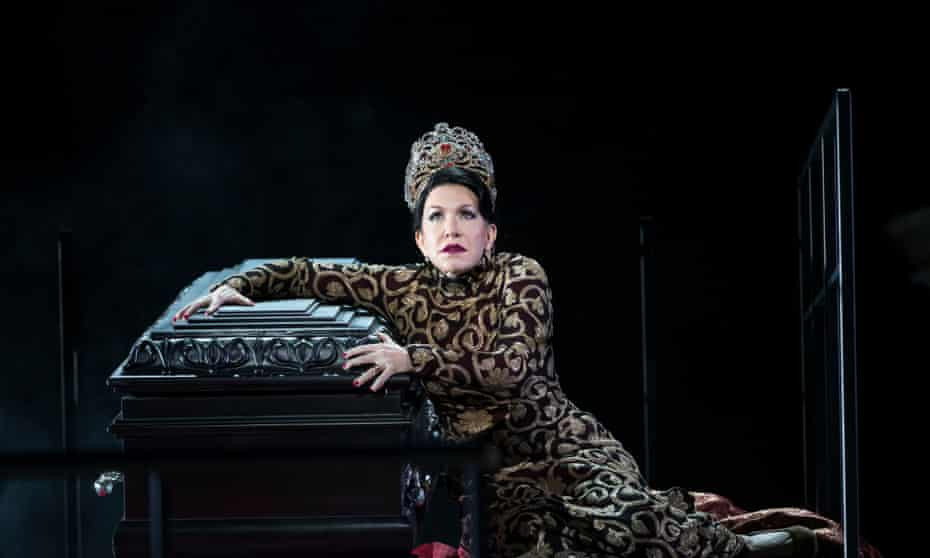 'Astonishing': Joyce DiDonato in the title role of Semiramide at the Royal Opera House.