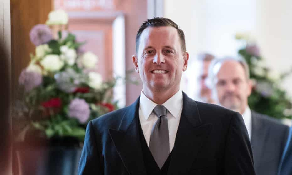 Richard Grenell has angered politicians by saying he wants to empower conservatives.