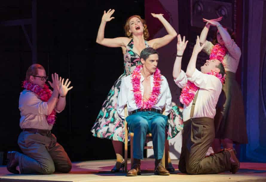 Opera North's Trouble in Tahiti, with Wallis Giunta, Quirijn de Lang, Joseph Shovelton and Fflur Wyn.