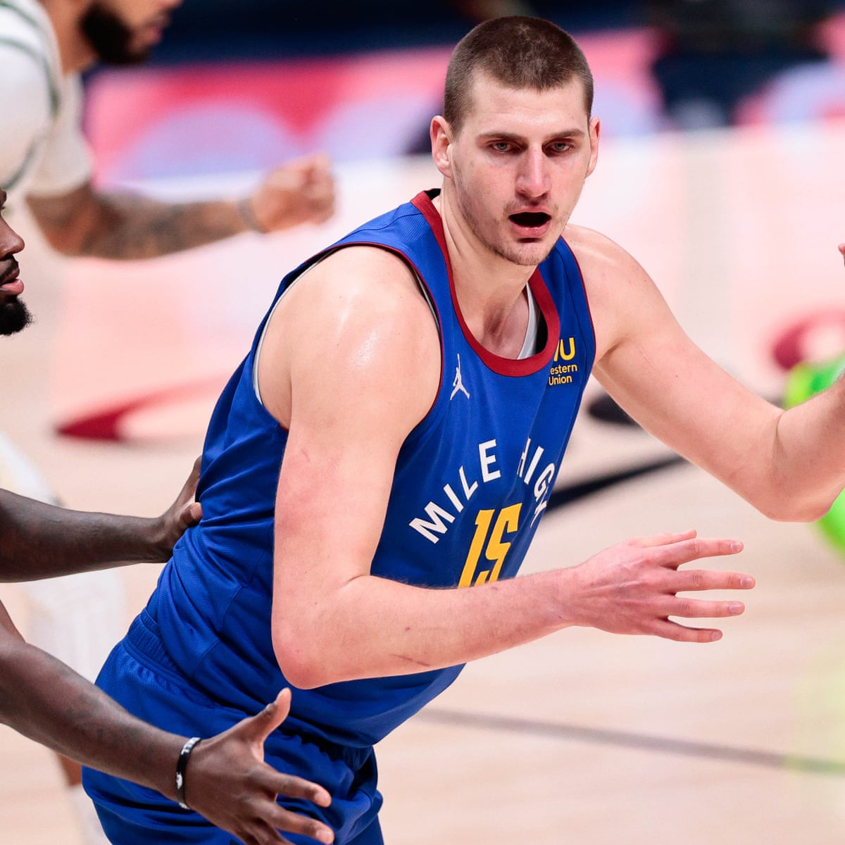 Nikola Jokić From Euroleague Reject To The Nba S Center Of Attention Denver Nuggets The Guardian