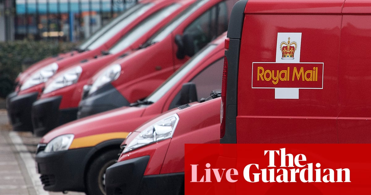Royal Mail profits surge in pandemic; markets stabilise after crypto selloff – business live