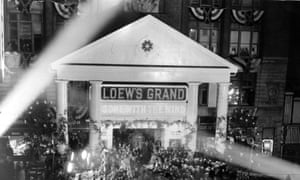 Loew's Grand hosts the world premiere of Gone With The Wind in 1939.