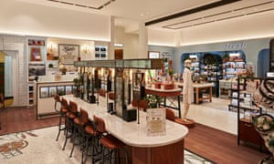 Made for skintellectuals: the new Harrods Skincare Space.