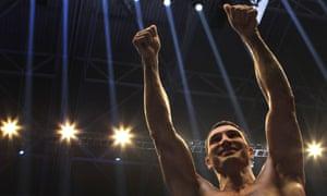 Farewell, Wladimir Klitschko.