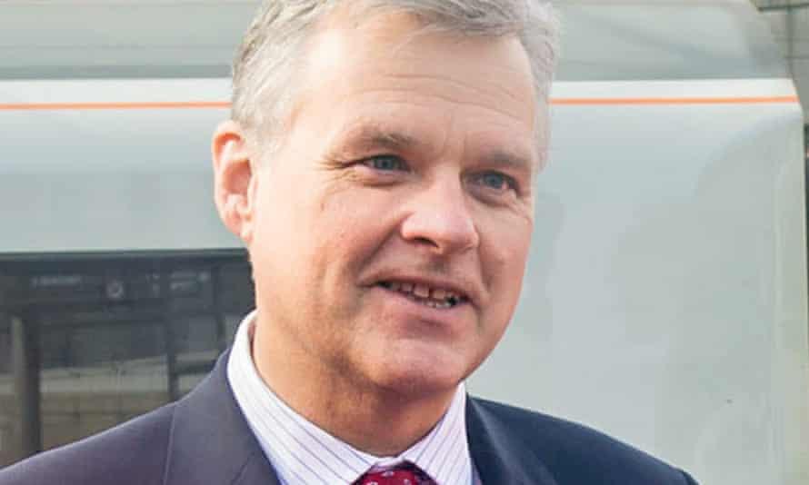 Network Rail boss Mark Carne