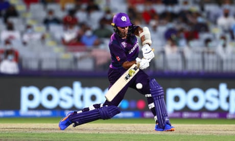 Coetzer helps steer Scotland past Oman and into Super 12 stage at T20 World Cup