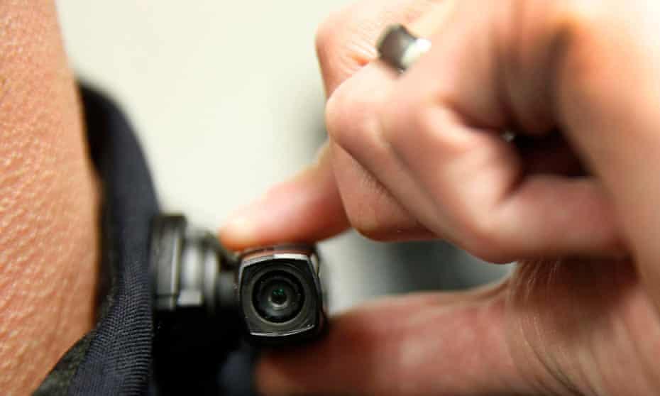 Police officer body camera in Utah