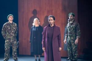 Hermon Berhane as Virgilia in Coriolanus