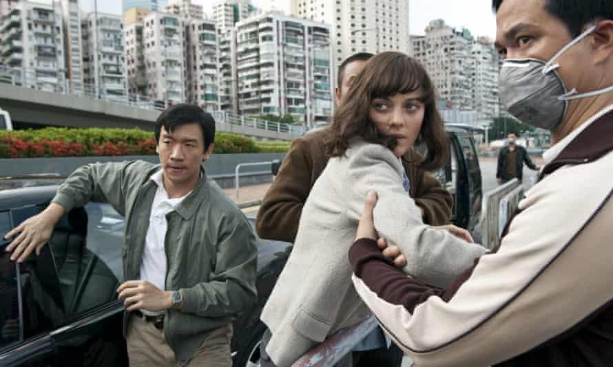 Steven Soderbergh's 2011 film Contagion.
