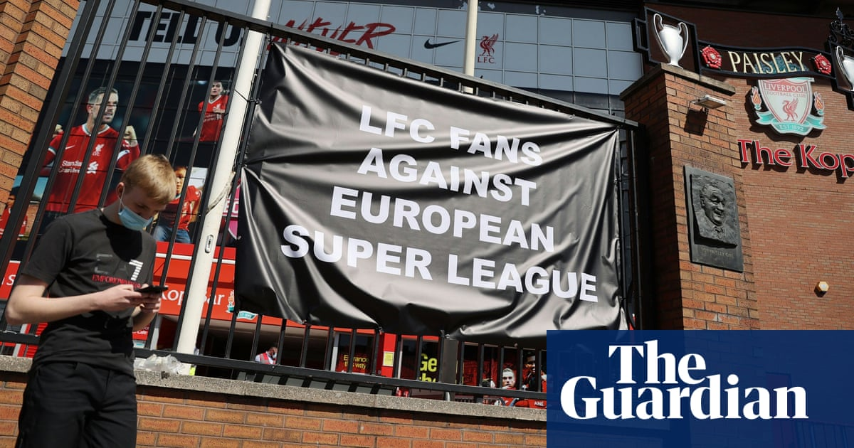 Boris Johnson says government will try to stop European Super League