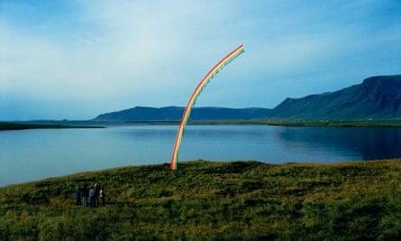 Quite a story arc ... Rainbow I by Rúrí, one of the Nýló founders.