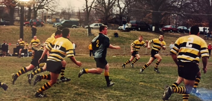 912a3377054 He today that sheds his blood with me  when West Point rugby went to war