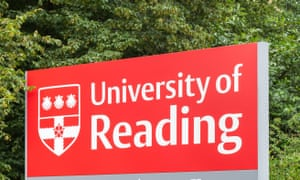 An entrance sign to the University of Reading