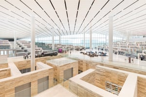 Inside Rem Koolhaas's Qatar National Library, which aims to be 'a place where community can gather'.