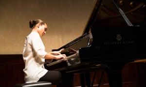 Anna Tsybuleva will perform at Harrogate Music Festival.