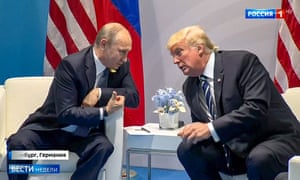 Vladimir Putin and Donald Trump in Our New President.