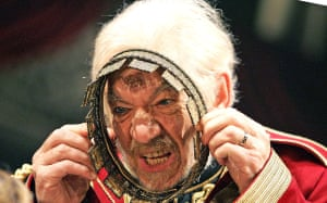 2007 As Lear in Trevor Nunn's RSC production of King Lear at the New London theatre