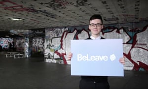 Darren Grimes, founder of the BeLeave campaign