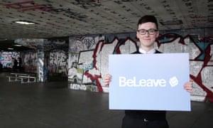 Darren Grimes, student at Brighton University
