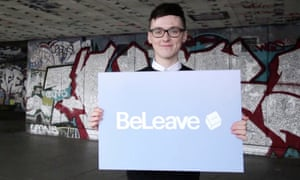 Darren Grimes the student who received a £625,000 gift from Vote Leave.